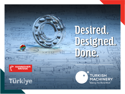 Turkish Machinery's 9th Participation In Hannover Messe Was On Digital